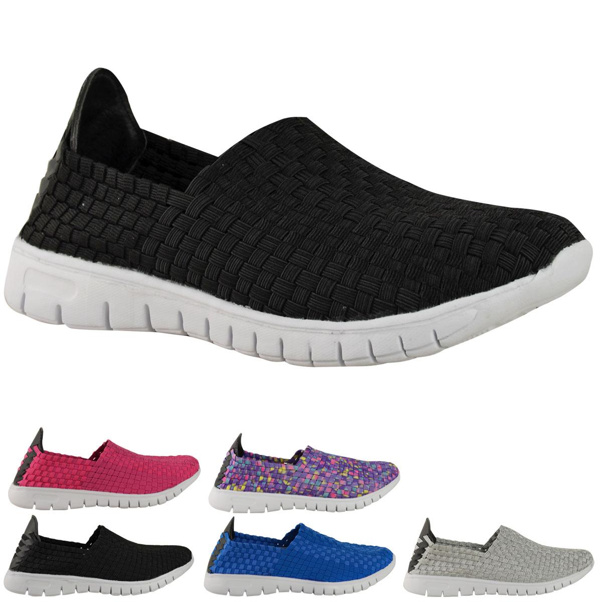 Women 's Go Walking Get Fit Trainers Sport Shoes Athletic Walk Shoes Sport Gym DEK, Color, Talla 37