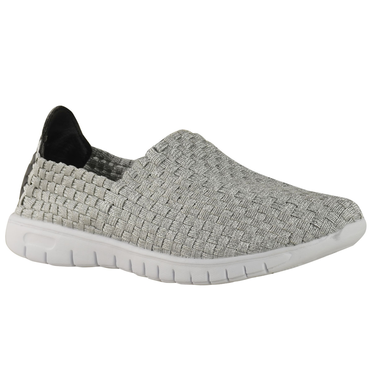 Womens Slip On Stretch Shoes