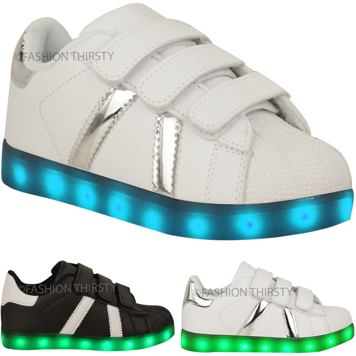 Boys light up trainers to see them through the seasons. Let them have all the fun with casual & sportswear shoes. Next day delivery & free returns available.