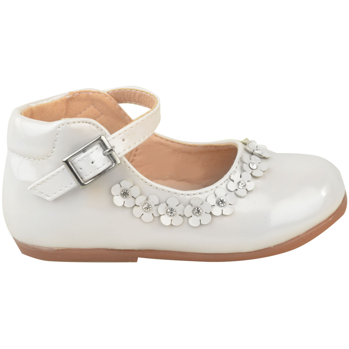 Girls Kids Childrens Low Heel Party Wedding Mary Jane