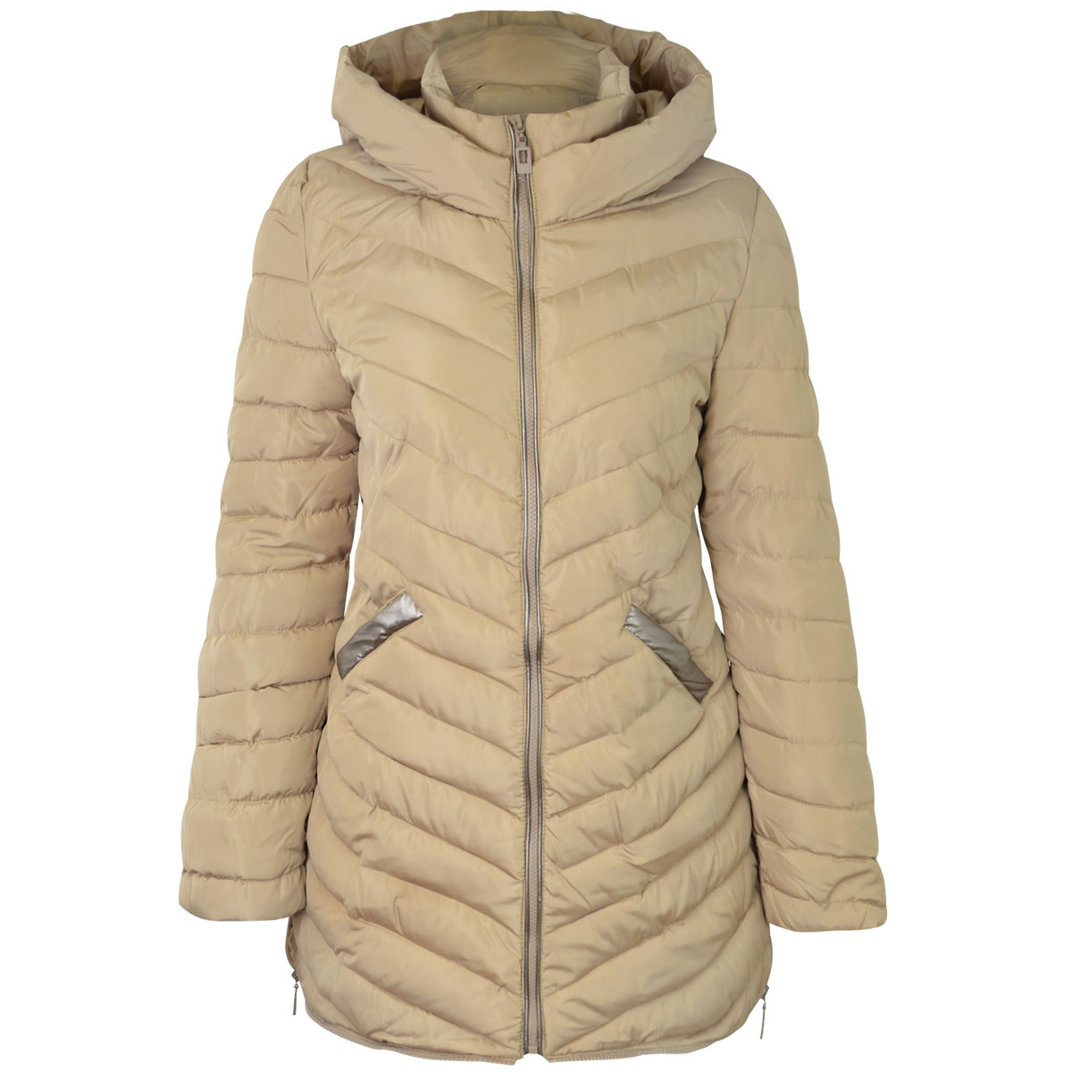 Find great deals on eBay for women padded jacket. Shop with confidence. Skip to main content. eBay: New Listing Down Coat Womens Padded Winter Hooded Jacket SZ-Large. Brand New. $ Buy It Now +$ shipping. New Ladies Quilted Padded Button Zip Jacket Casual Women's Coat Plus Size 8 .