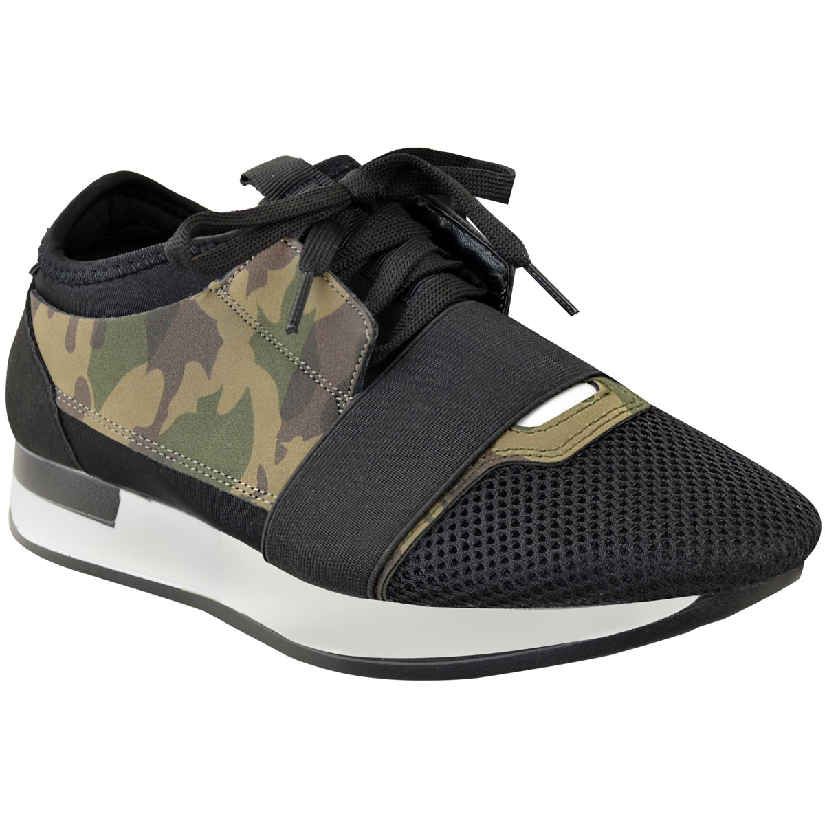 Womens Ladies Sneakers Bali Trainer Runner Stretch Band Gym Comfy Size | eBay