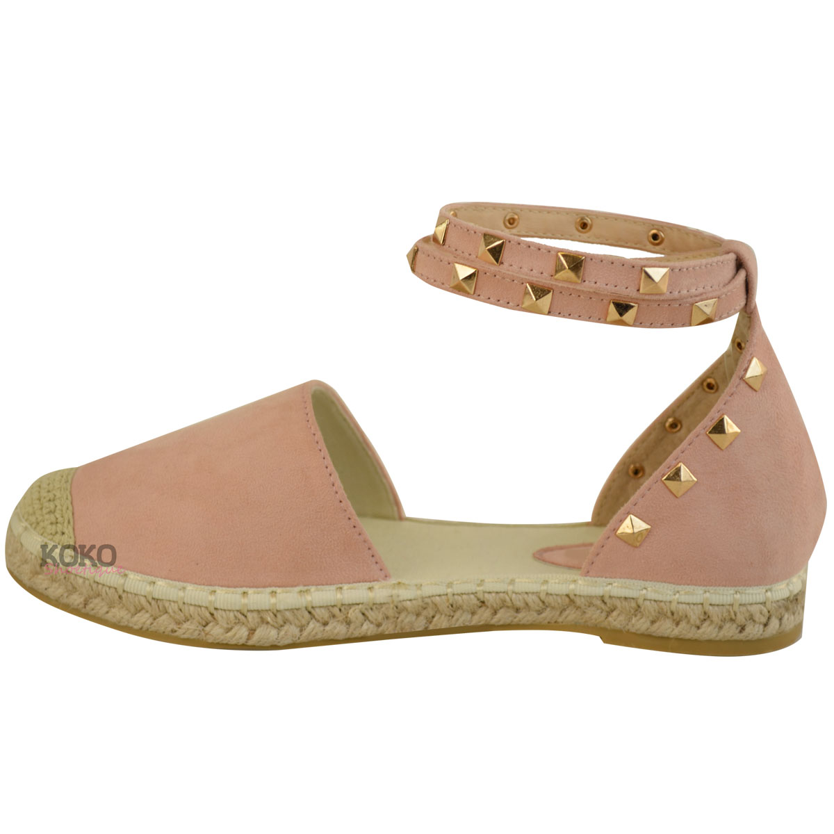 Studded Flat Womens Shoes