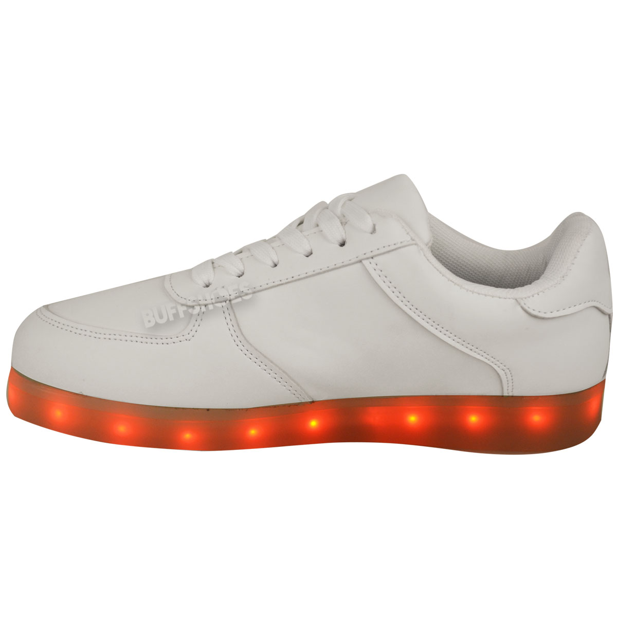 Men Women Led Lights Lace Up Shoes Sportswear Casual Sneaker