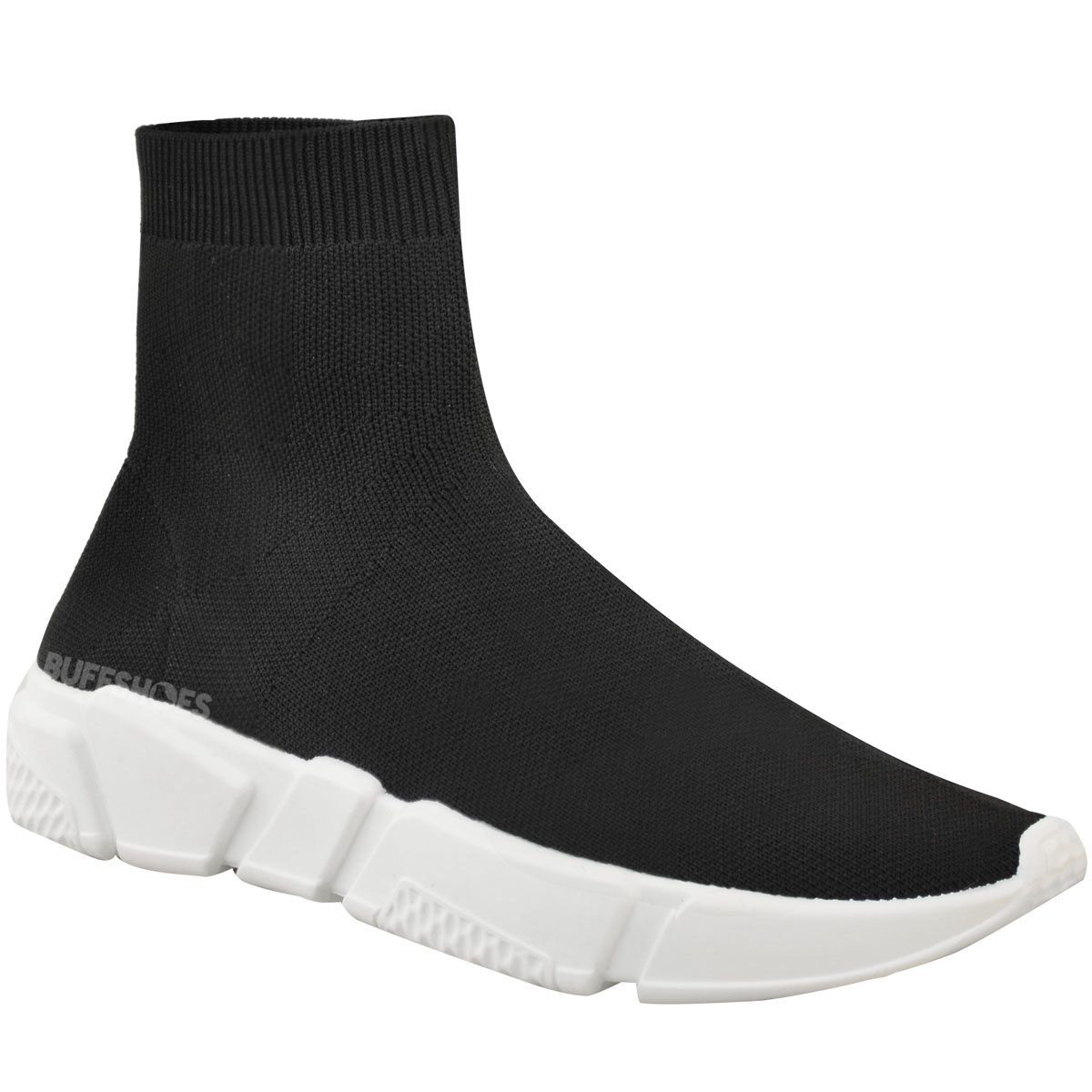 Gym Shoes With Sock Top