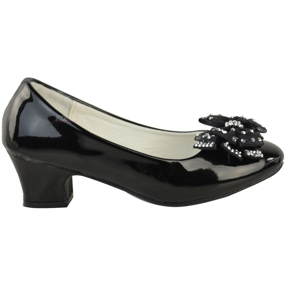 Diamante Heel Shoes