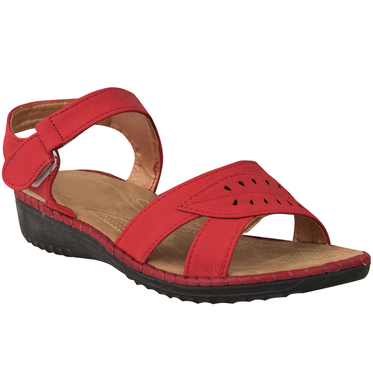 womens comfort wide fit casual walking summer