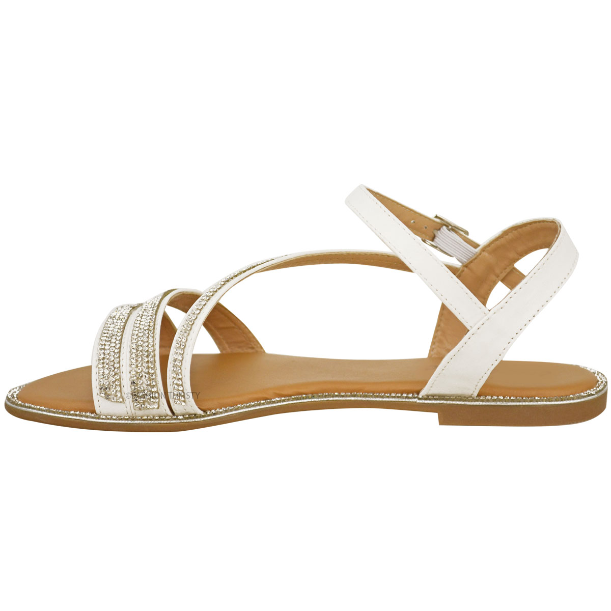 Nina Women's Nina Gaelen Strappy Sandal Wal-Mart USA, LLC $ Fergalicious. Women's Fergalicious Tinker Strappy Sandal. $ $ at Walmart. The Fergalicious Tinker Strappy Sandal is a chic cage shoe with a stiletto heel and woven detailing.
