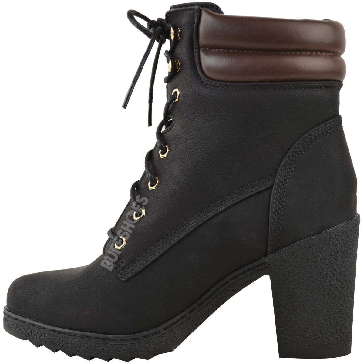 Womens-Ladies-Winter-Walking-Boots-Fleece-Warm-Lining-Cosy-Low-Block-Heel-Size Indexbild 5