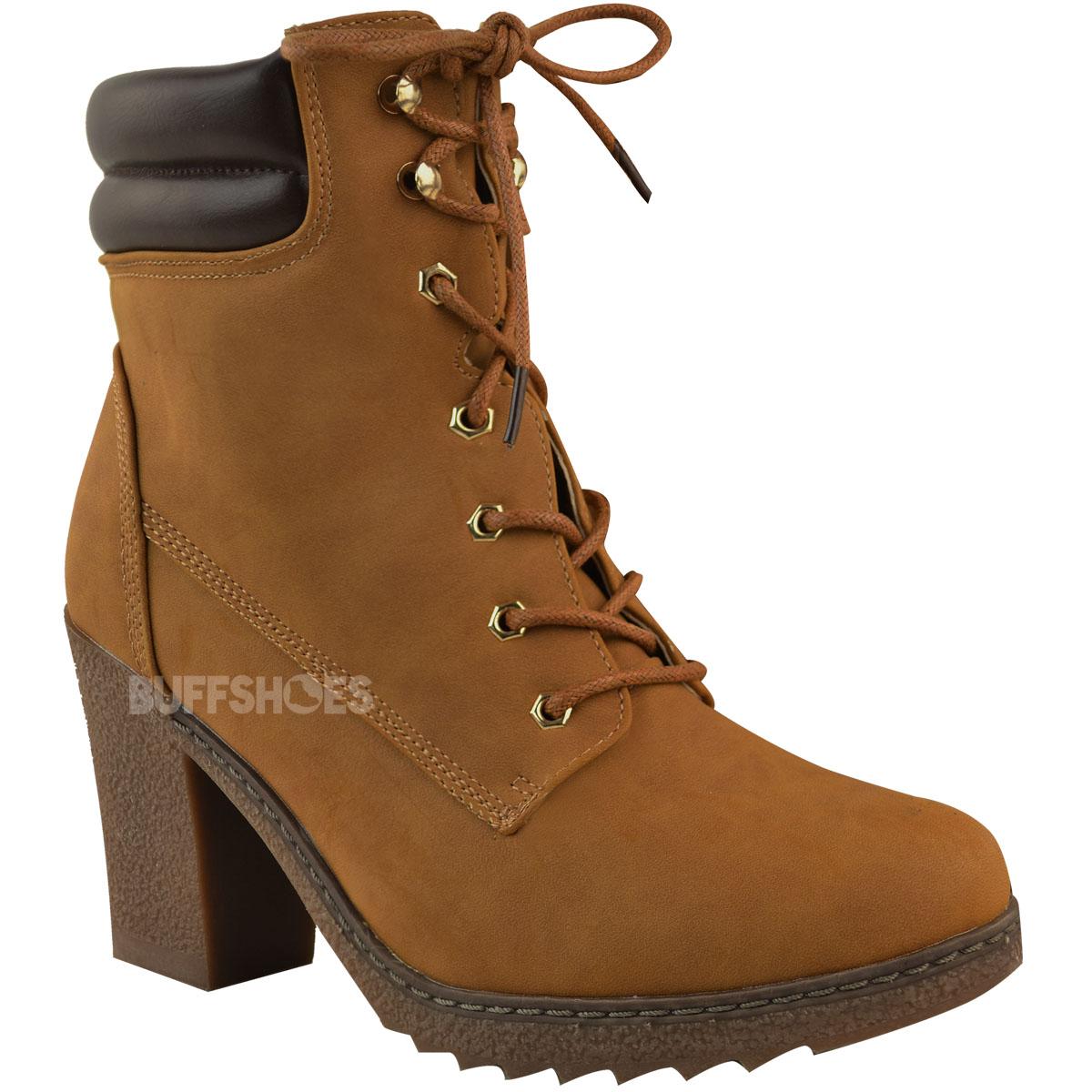 Womens-Ladies-Winter-Walking-Boots-Fleece-Warm-Lining-Cosy-Low-Block-Heel-Size Indexbild 8