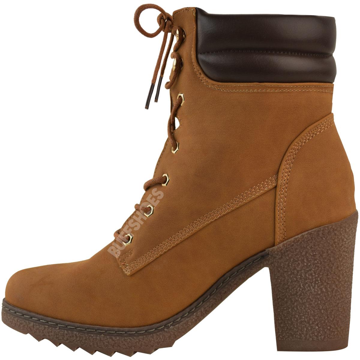 Womens-Ladies-Winter-Walking-Boots-Fleece-Warm-Lining-Cosy-Low-Block-Heel-Size Indexbild 10