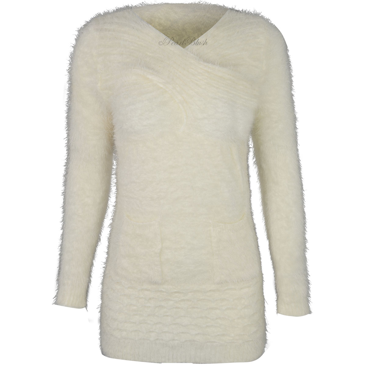 This sweater is a shameless flatterer: its slouchy body is loose and comfortable - a perfect fit for any build - and the generous V-neck compliments every face shape. Wear it .