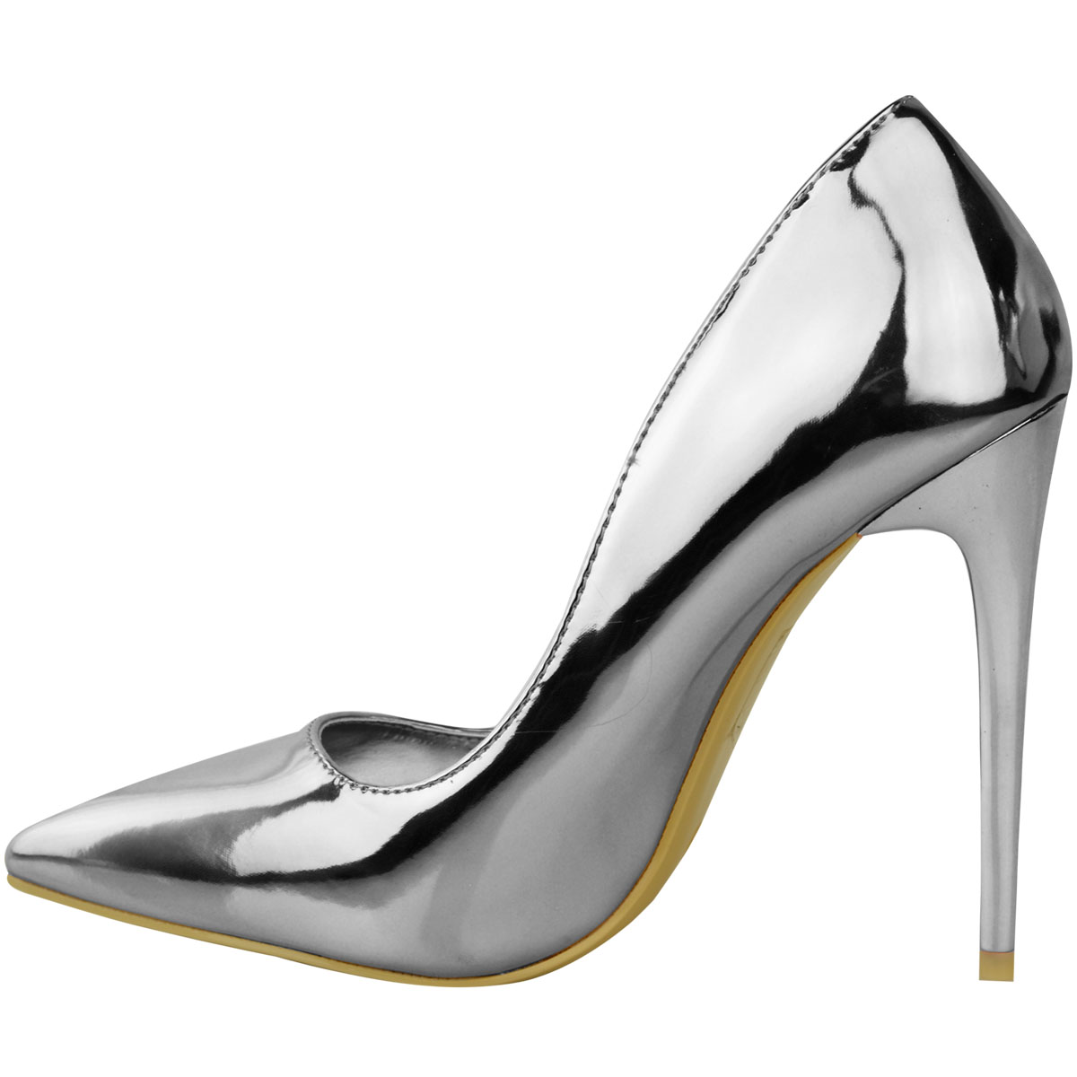 Womens-Ladies-Black-High-Heel-Court-Shoes-Smart-Formal-Occasion-Party-Size-New thumbnail 20