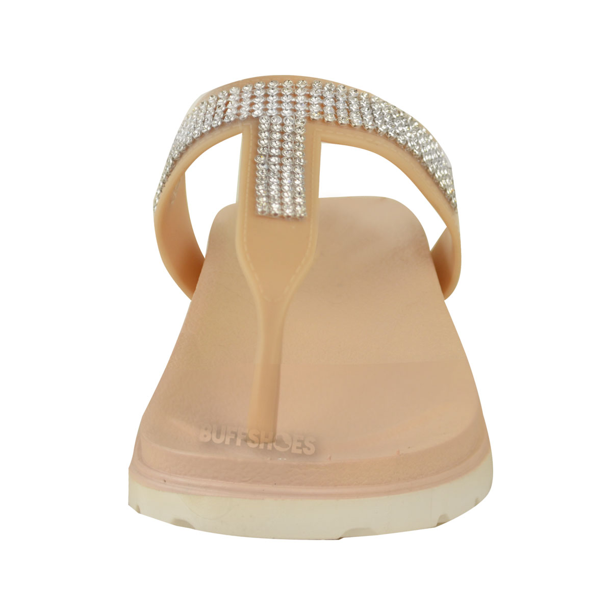 Womens-Ladies-Summer-Jelly-Sandals-Diamante-Wedge-Cushioned-Comfort-Shoes-Size thumbnail 12