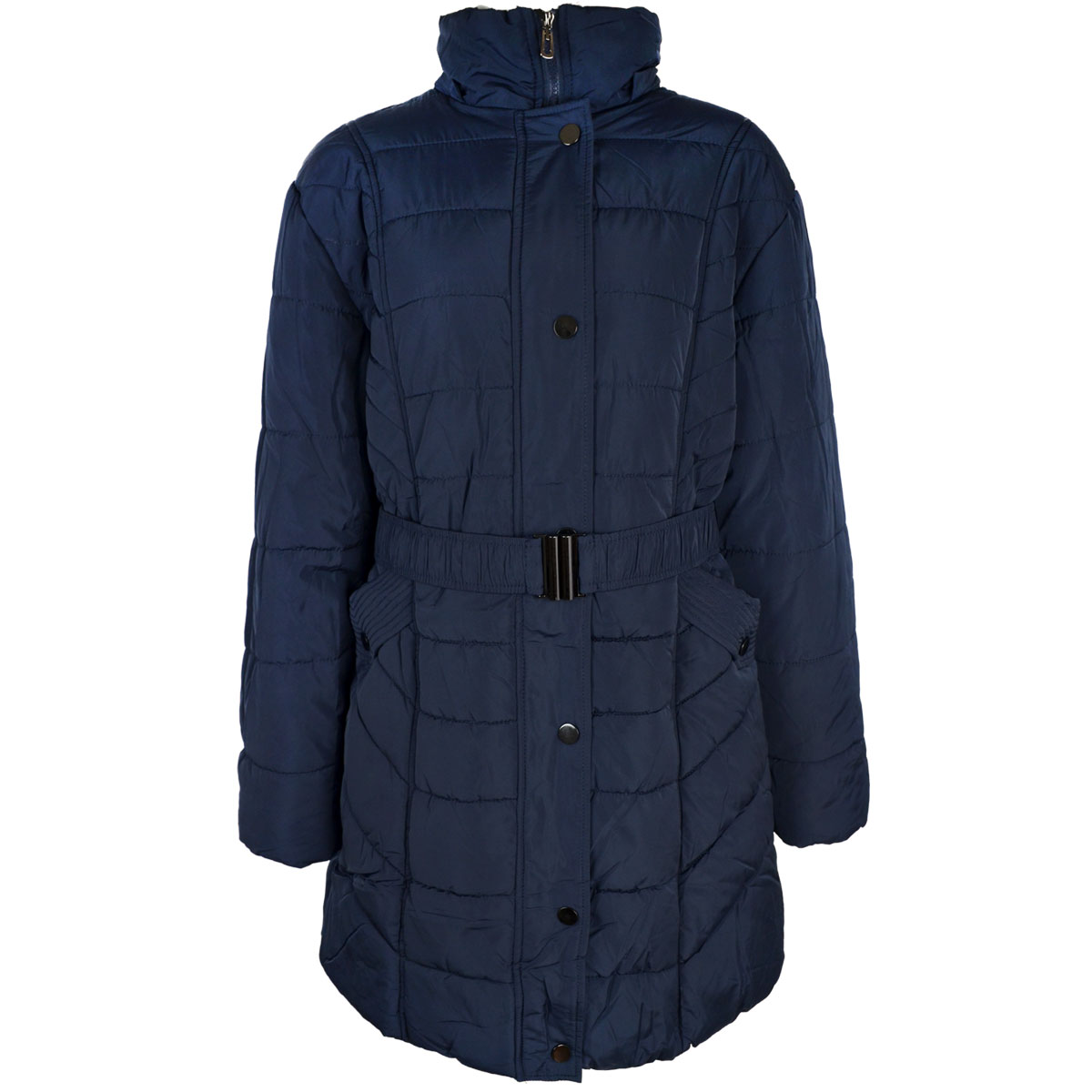 thumbnail 9 - Womens-Ladies-Plus-Over-Size-Winter-Long-Jacket-Puffer-Coat-Detachable-Hood