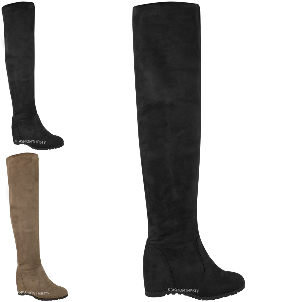 Fashion Thirsty Thigh High Boots