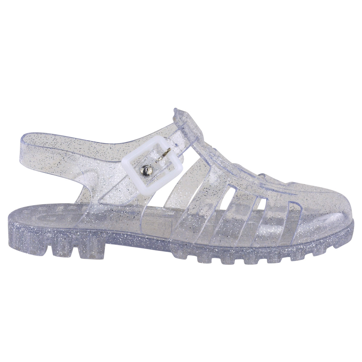 womens flat retro summer jelly sandals