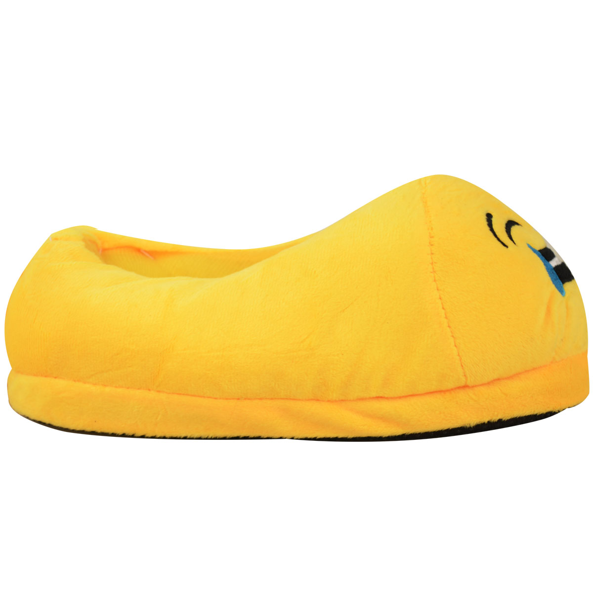 miniatura 9 - Uomini Donne Bambini Emoji Peluche imbottiti unisex Pantofola Inverno Casa Indoor Scarpe Taglia