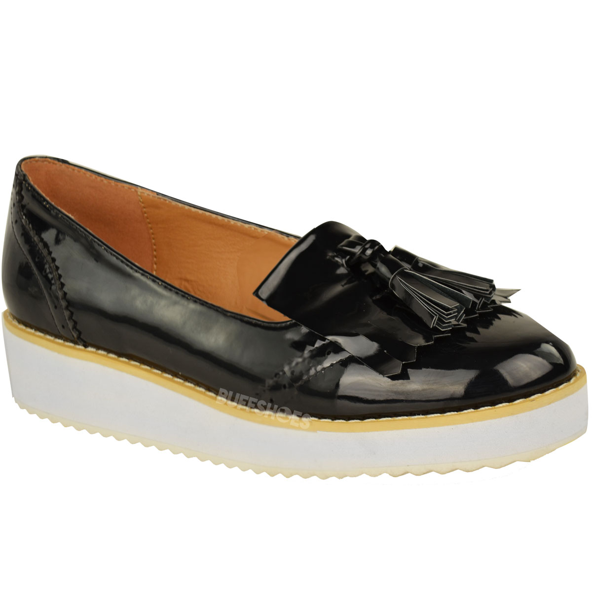 Ladies Shoes. Loafers. Women's Loafers (30) Inject a little polish into your shoe collection with our fantastic range of women's loafers. Go for a fringed or tasselled design in black or brown leather for a timeless look. Alternatively, give this classic Show more.
