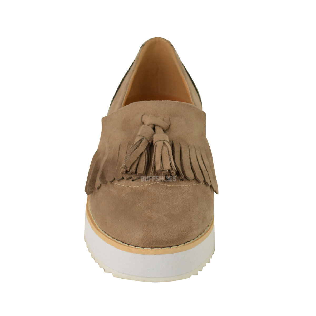 1da4796272f WOMENS LADIES LOAFERS FLAT SHOES CHUNKY CLEATED SOLE OFFICE SMART ...