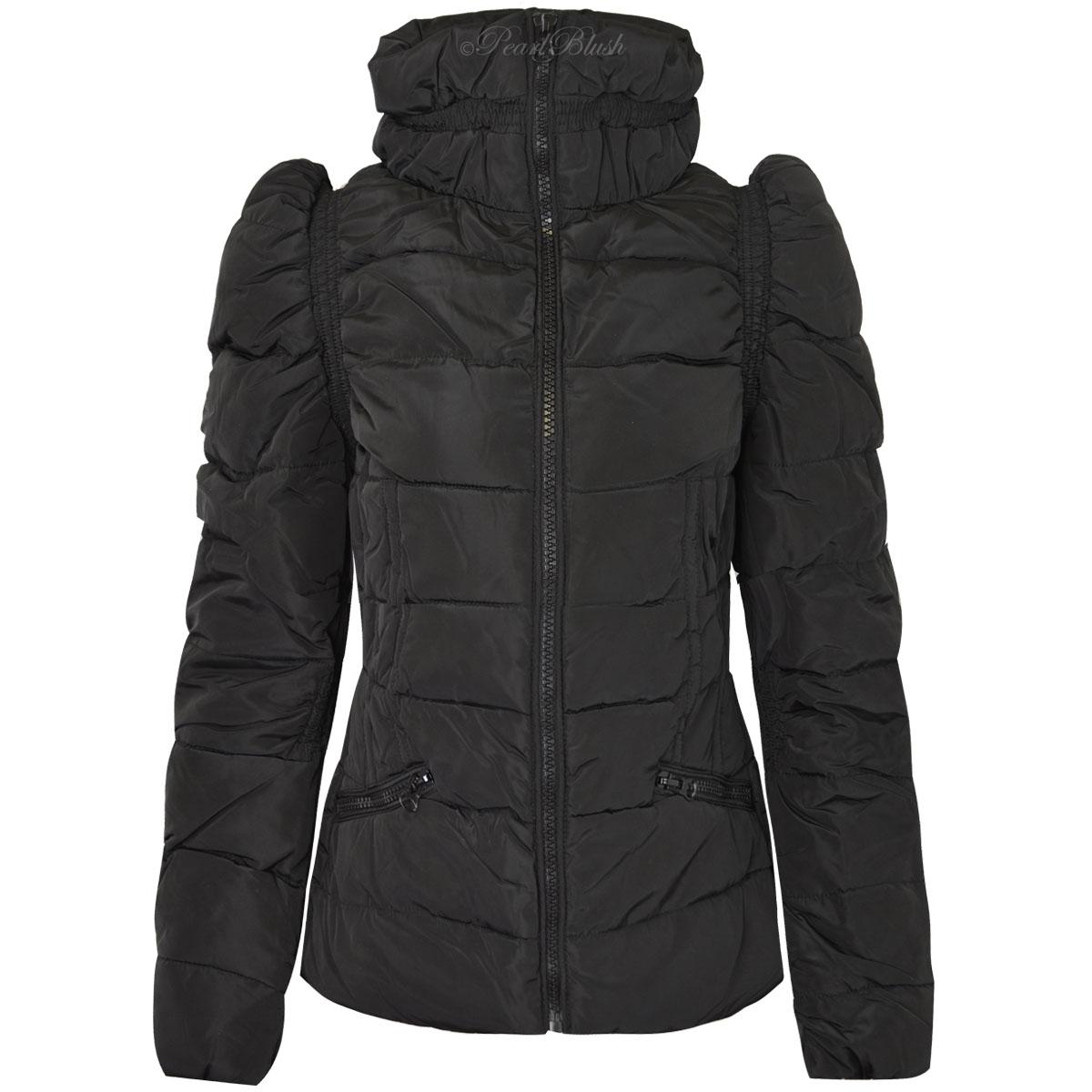 Extra warm winter womens coats