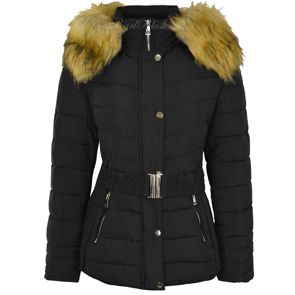 funon.ml Suede Velvet Coats Winter Jacket Women Plus Size 3XL Warm Parka Women Basic Coats Casual Cotton Wadded Jacket Female. Sold by VIRTUAL STORE USA. $ Lands' End Women's Plus Size Faux Fur Hooded Down Winter .