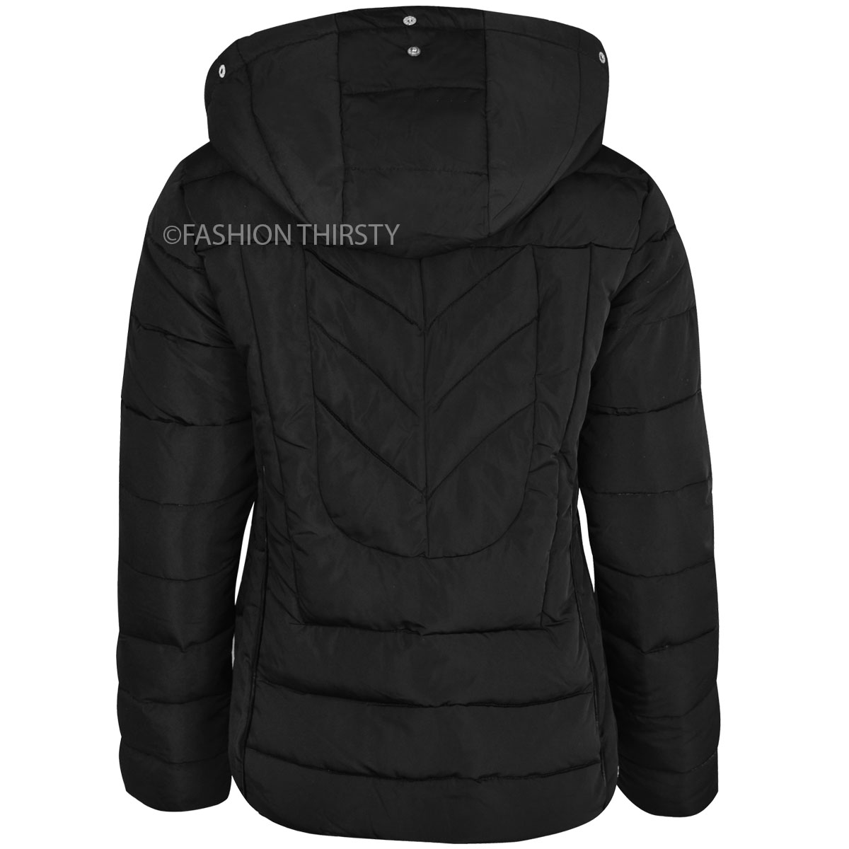 WOMENS-LADIES-QUILTED-WINTER-COAT-PUFFER-FUR-COLLAR-HOOD-JACKET-PARKA-SIZE-NEW