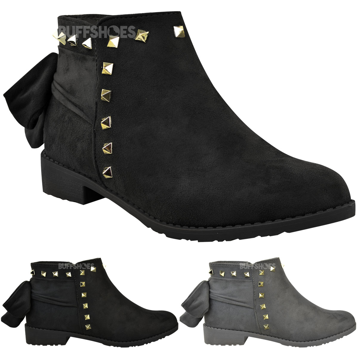 Womens Lace Up Winter Shoes