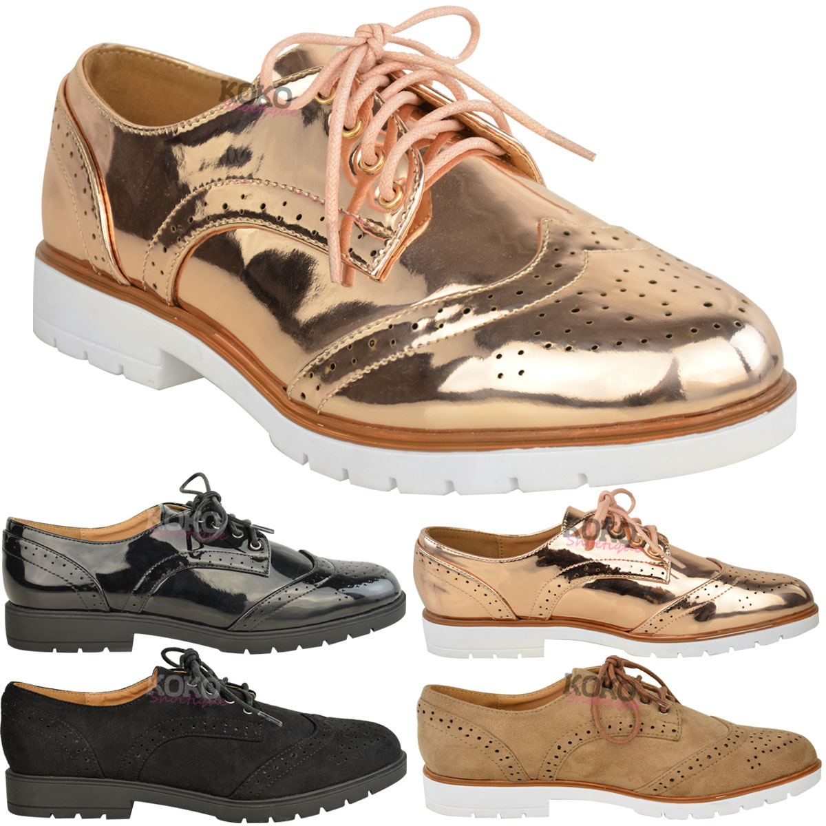 Find great deals on eBay for womens lace up brogues. Shop with confidence.