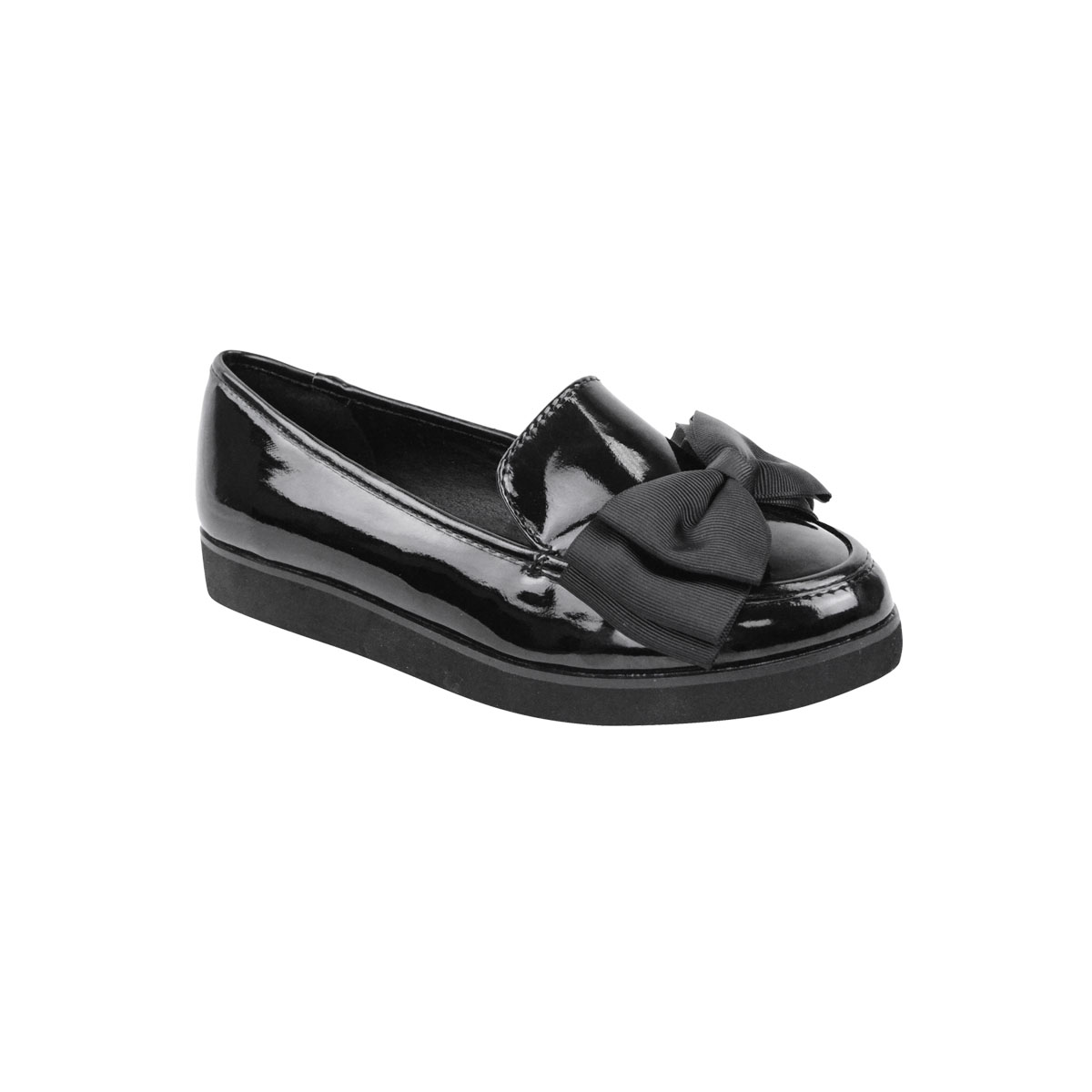 WOMENS-LADIES-GIRLS-NEW-FLAT-OFFICE-SCHOOL-SHOES-SMART-FORMAL-LOAFERS-PUMPS-SIZE thumbnail 5
