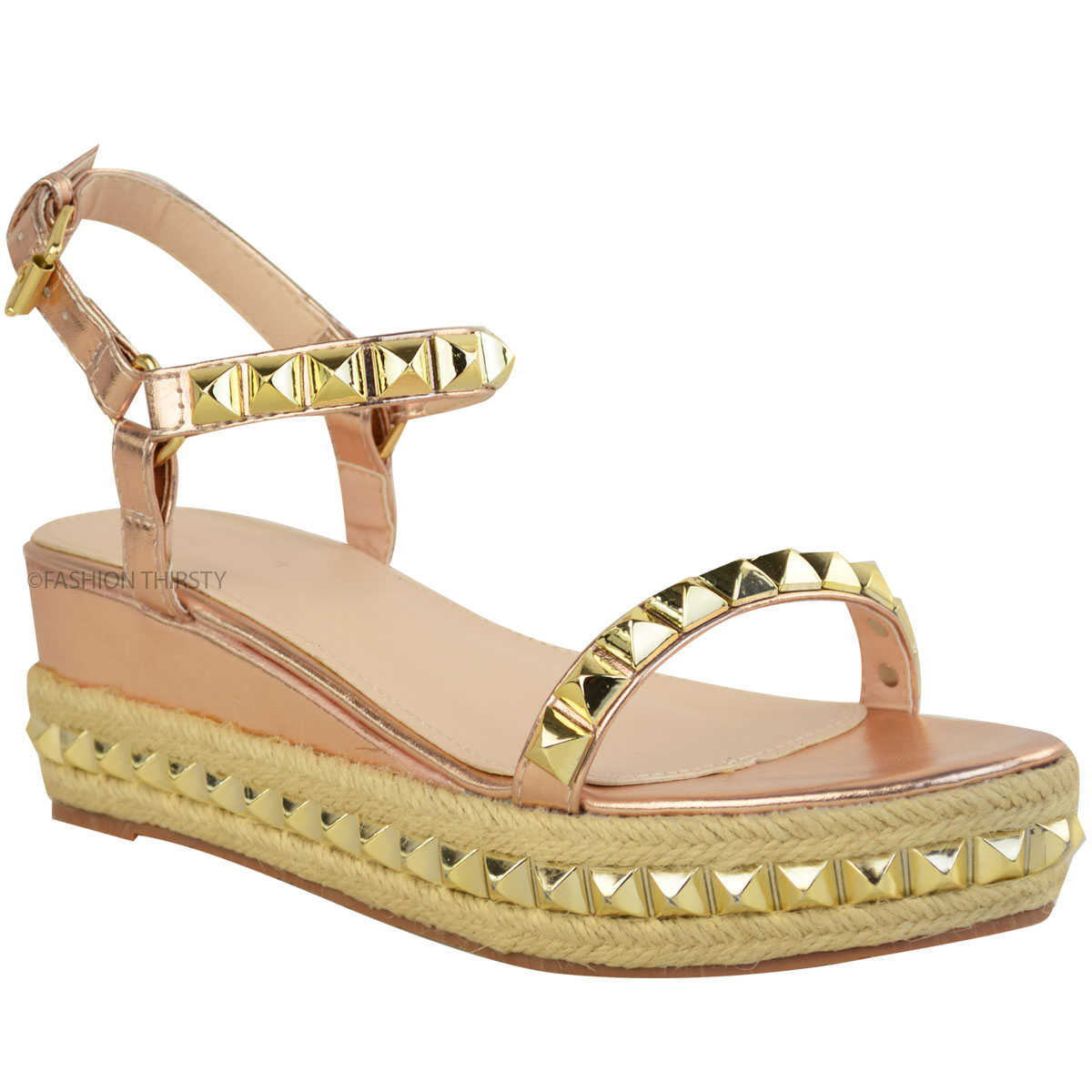 To acquire Wedge Gold sandals pictures picture trends