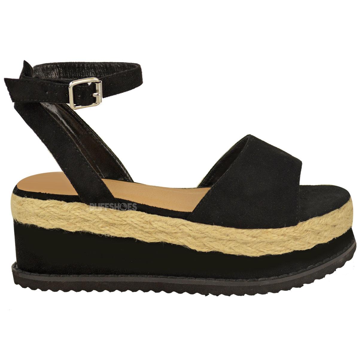 Ladies Wedge Shoes Espadrille