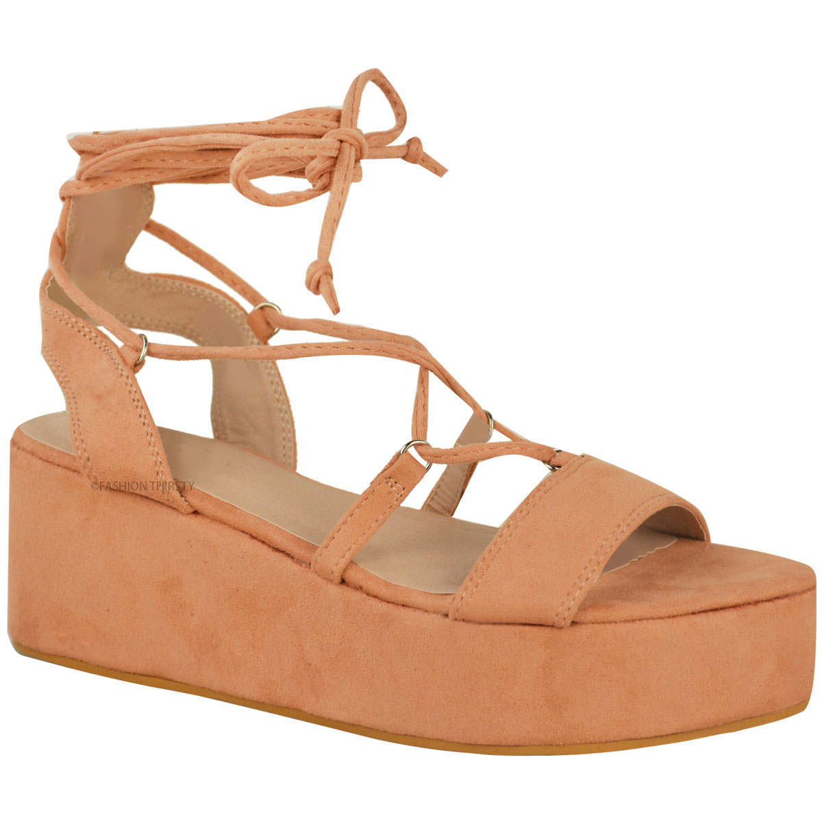 Sandals shoes holidays - New Womens Ladies Low Wedge Platform Sandals Strappy
