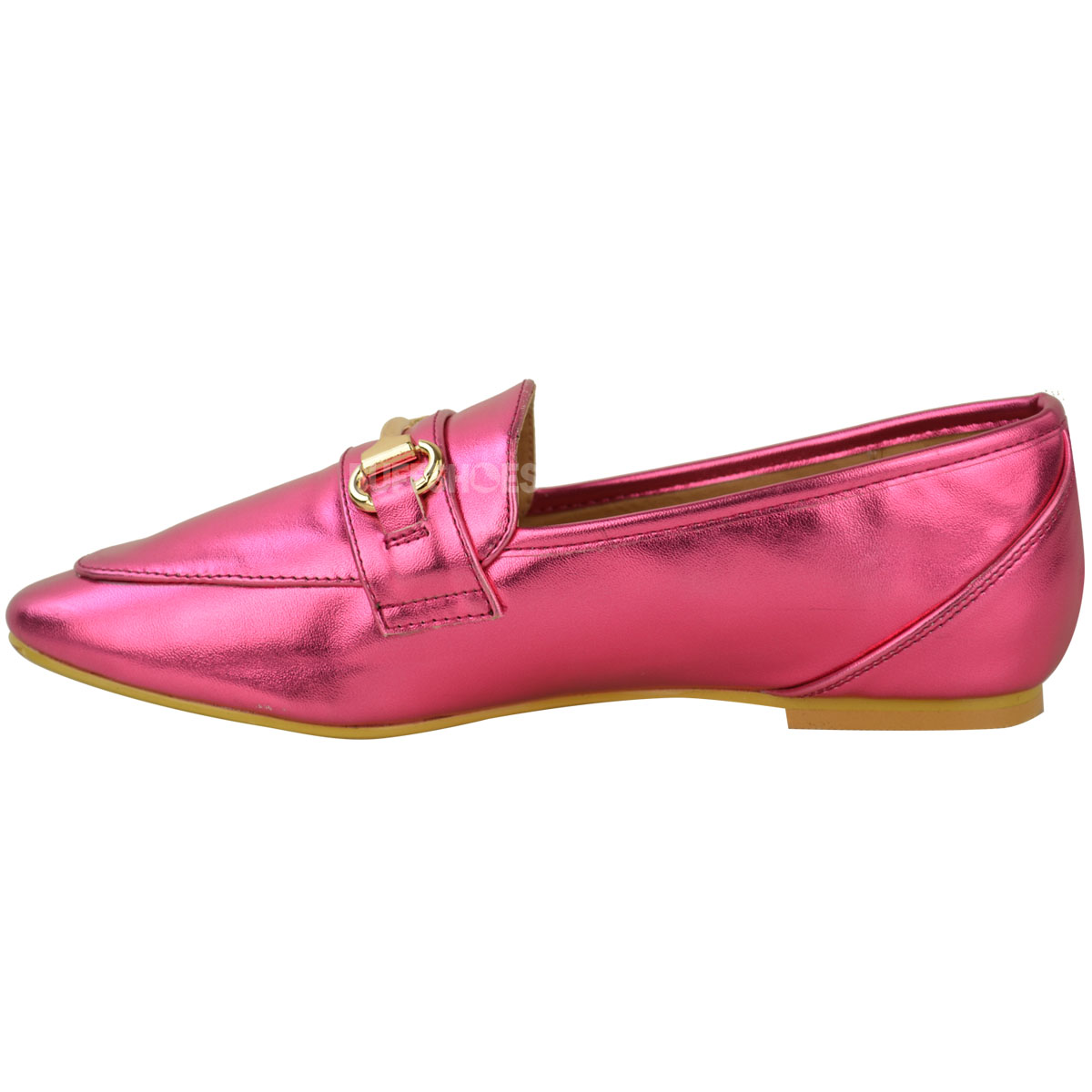 Womens Ladies Loafers Flat Smart Brogues Classic Formal Work School Shoes Size | EBay