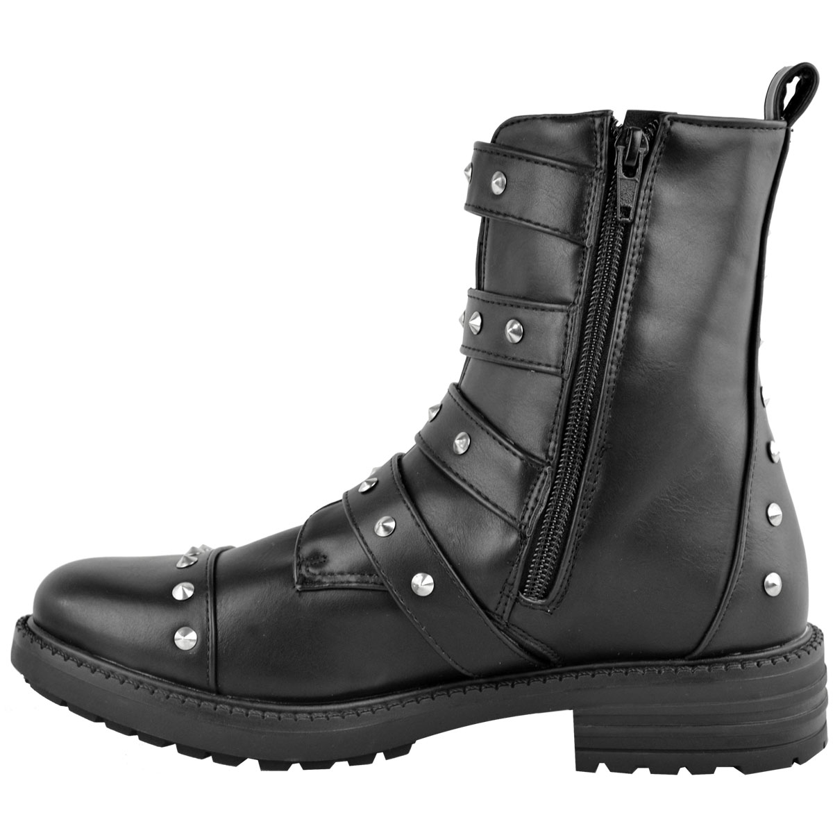 Excellent Spiked And Studded Sinister Womens Boot