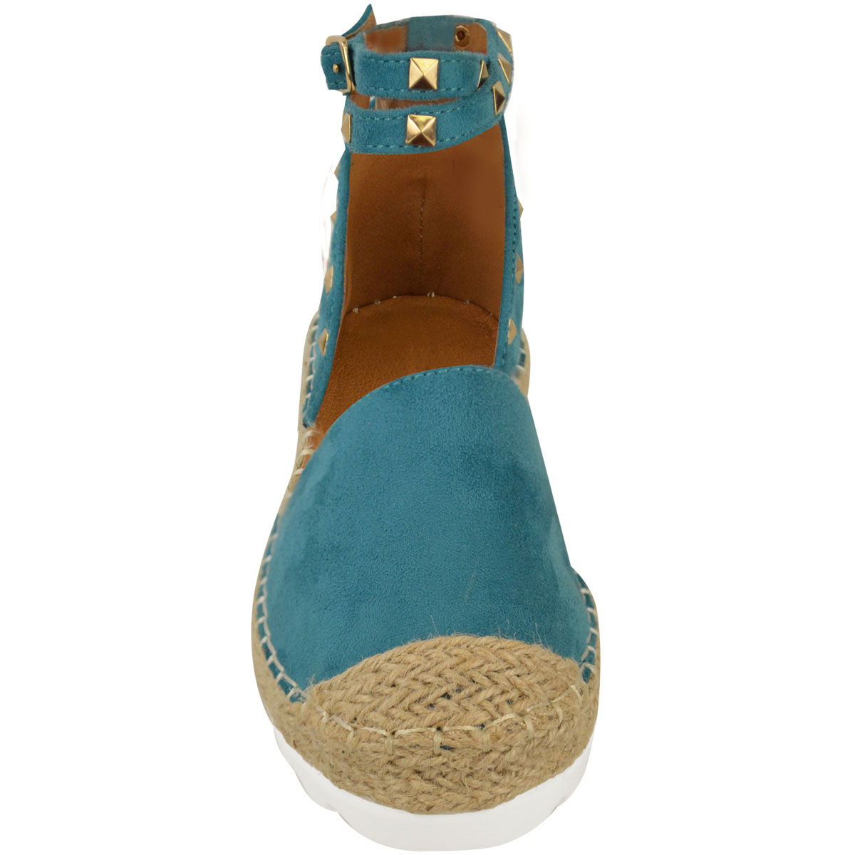 Womens-Ladies-Espadrilles-Flat-Pom-Pom-Sandals-Slip-On-Strappy-Comfy-Size-Shoes thumbnail 17