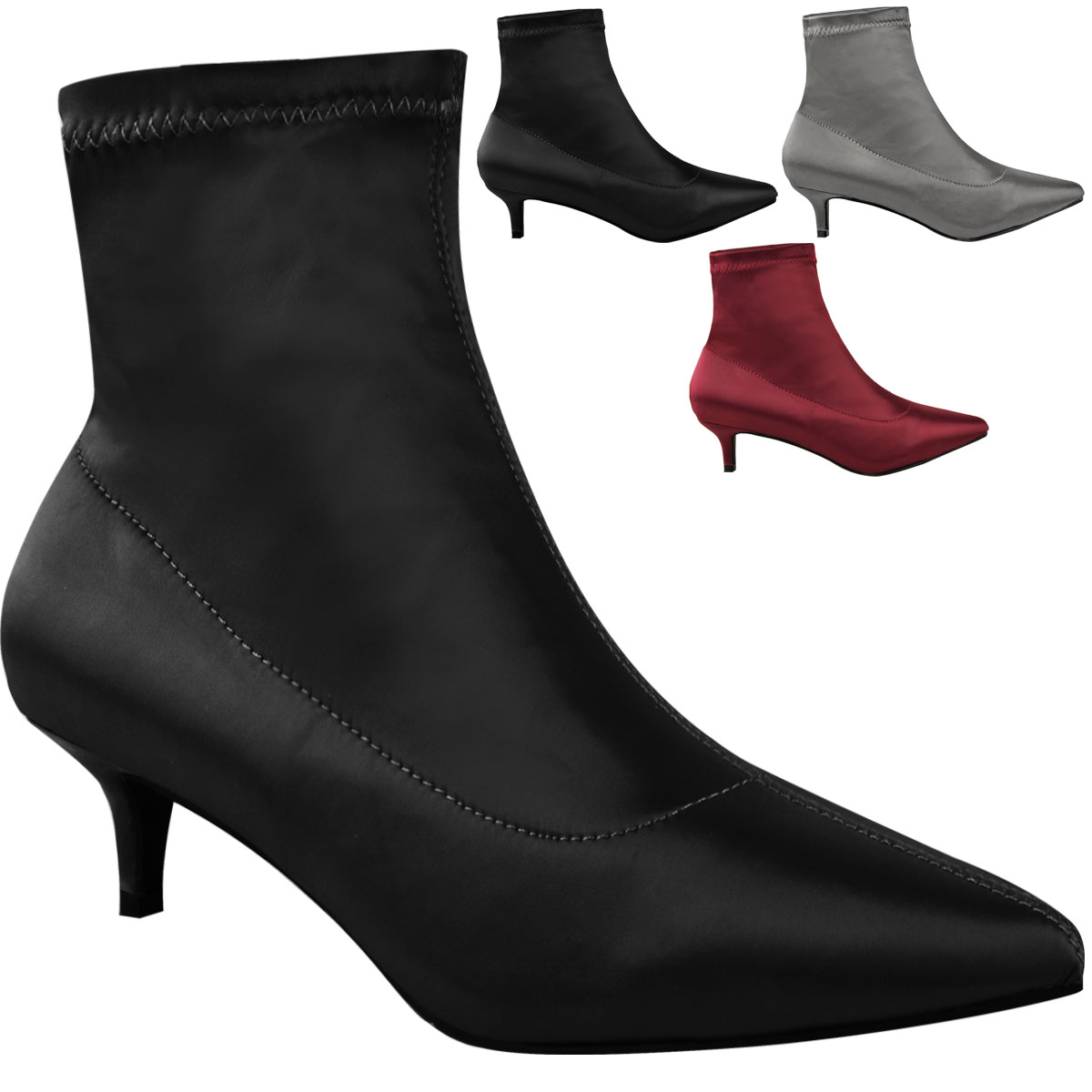 Brilliant 16cm Ultra High Heel Ankle Boots Black Patent Leather Boots Platform Shoes Women Size 35 To 40 ...