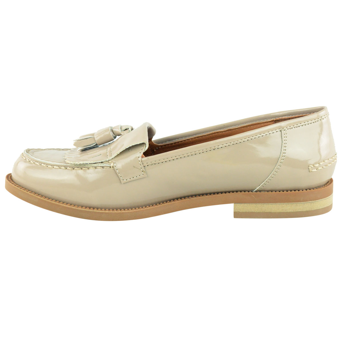 Womens-Ladies-Loafers-Brogues-Pumps-Casual-School-Office-Comfy-Work-Flats-Size thumbnail 24