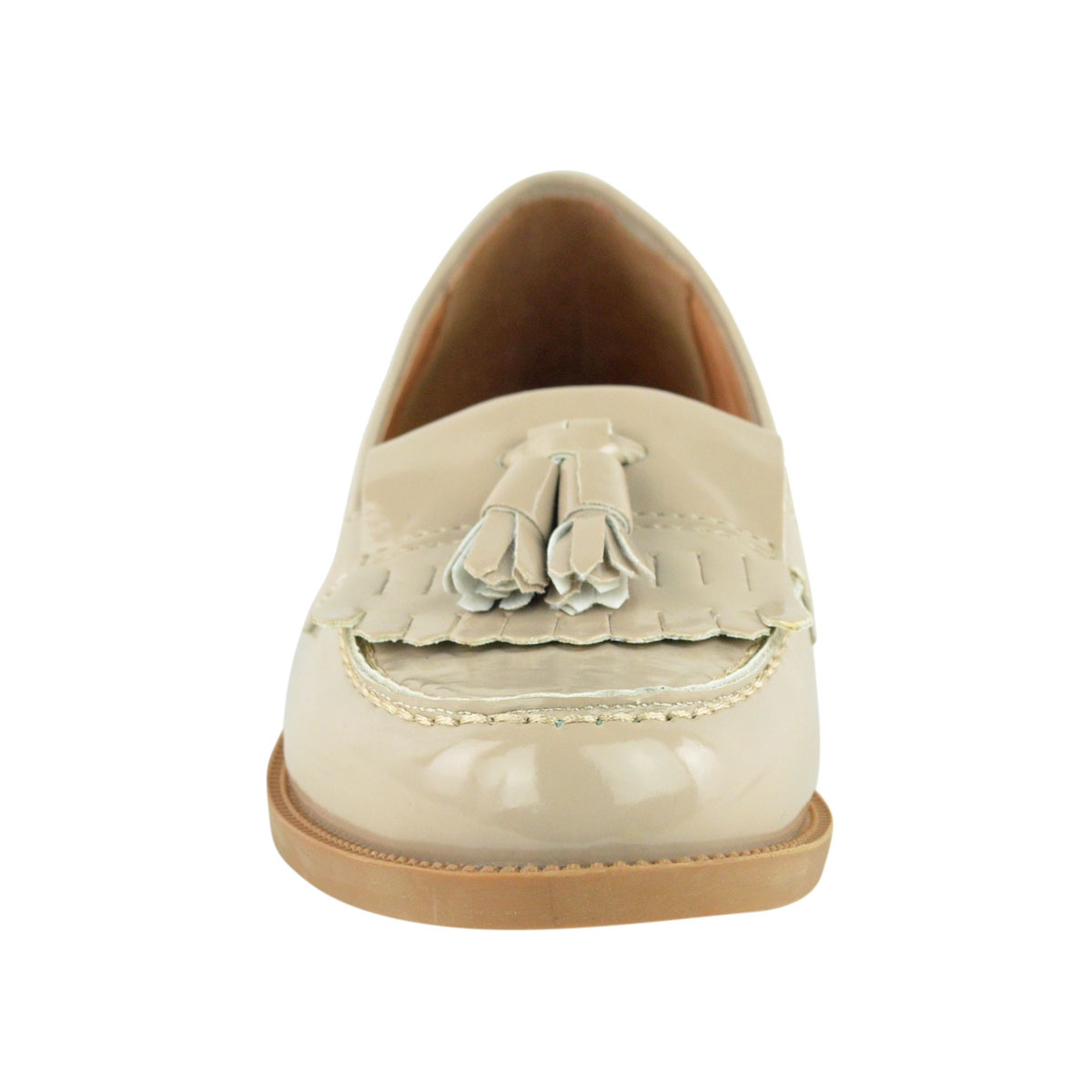 Womens-Ladies-Loafers-Brogues-Pumps-Casual-School-Office-Comfy-Work-Flats-Size thumbnail 25