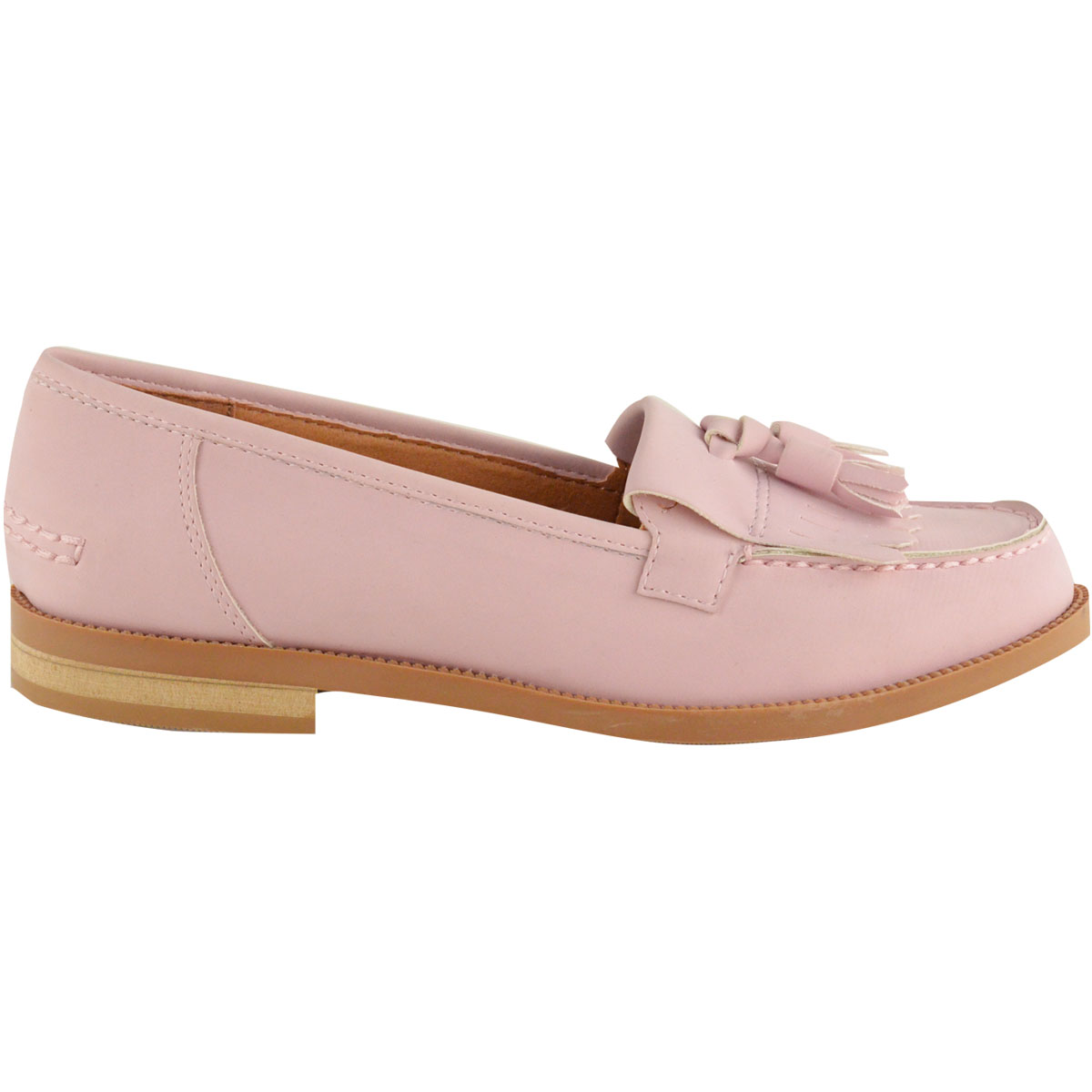 Womens Las Office Flat Casual Patent Faux Leather