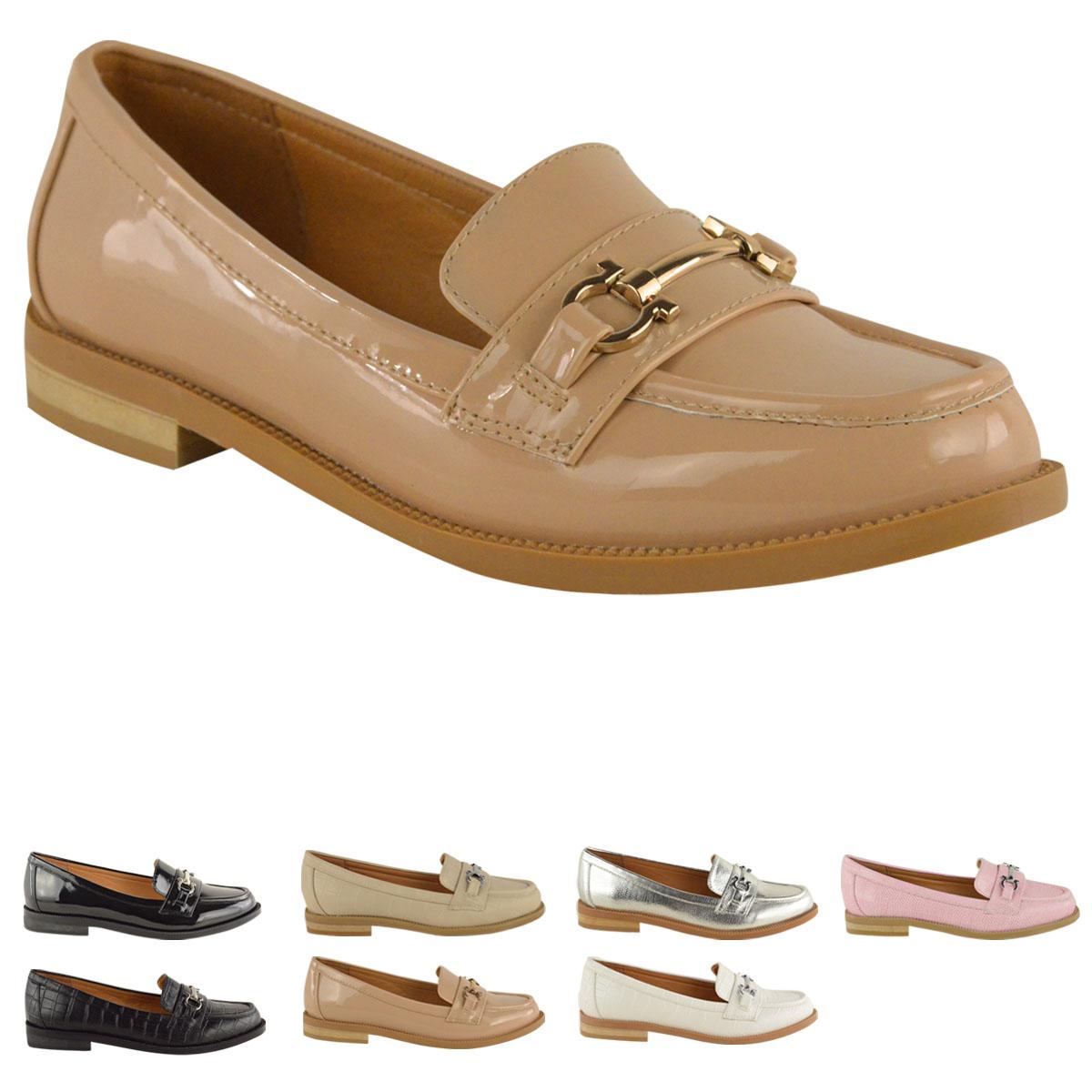 new womens loafers flat office work school smart