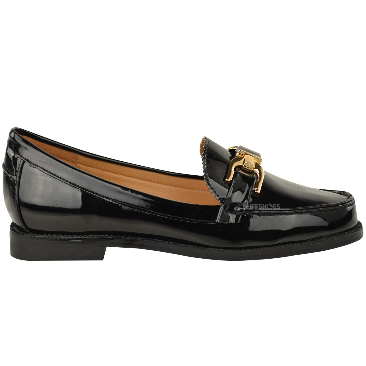 Two Tone Flat Shoes Ladies
