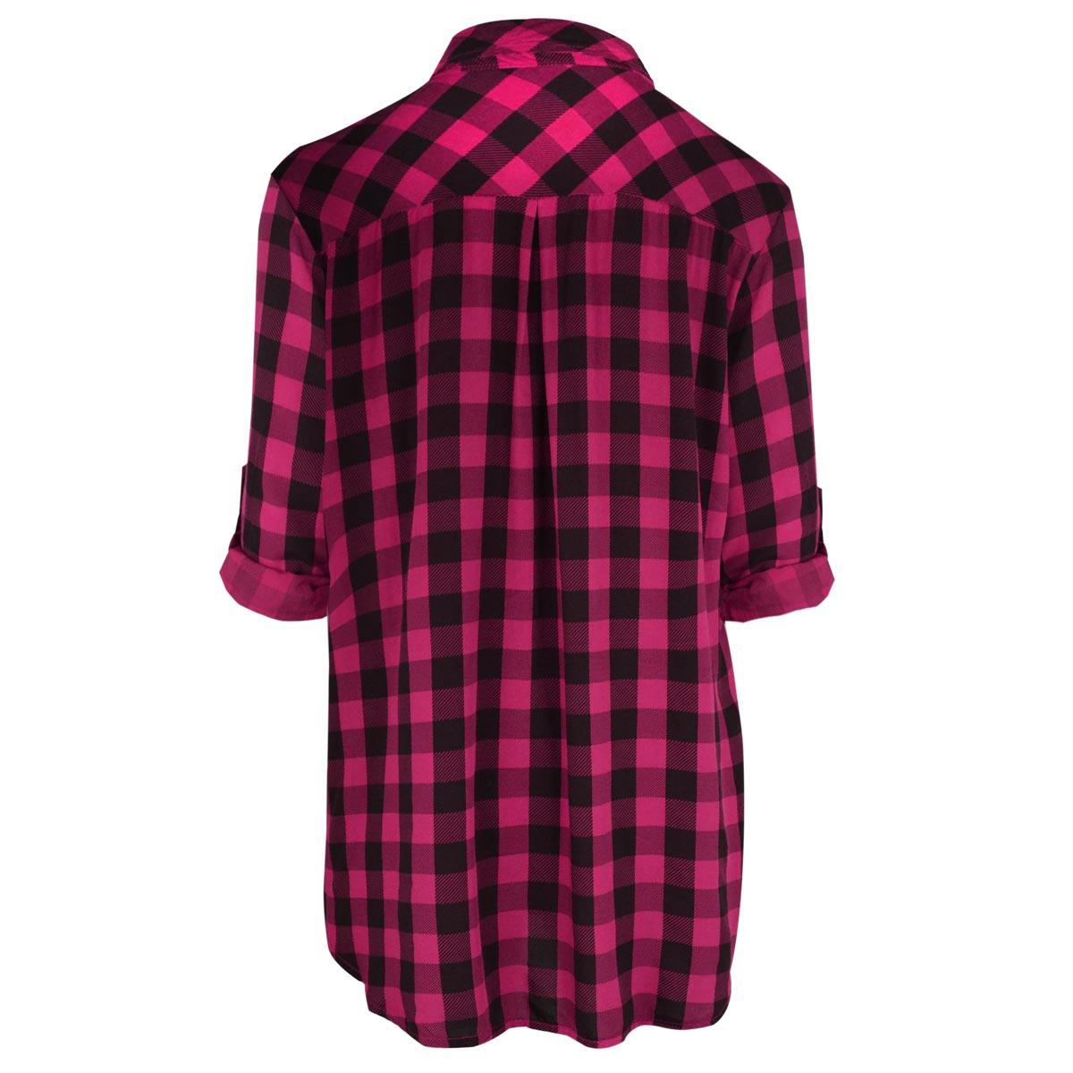 Women 39 s flannel blouses long sleeved blouse for Womens christmas flannel shirt