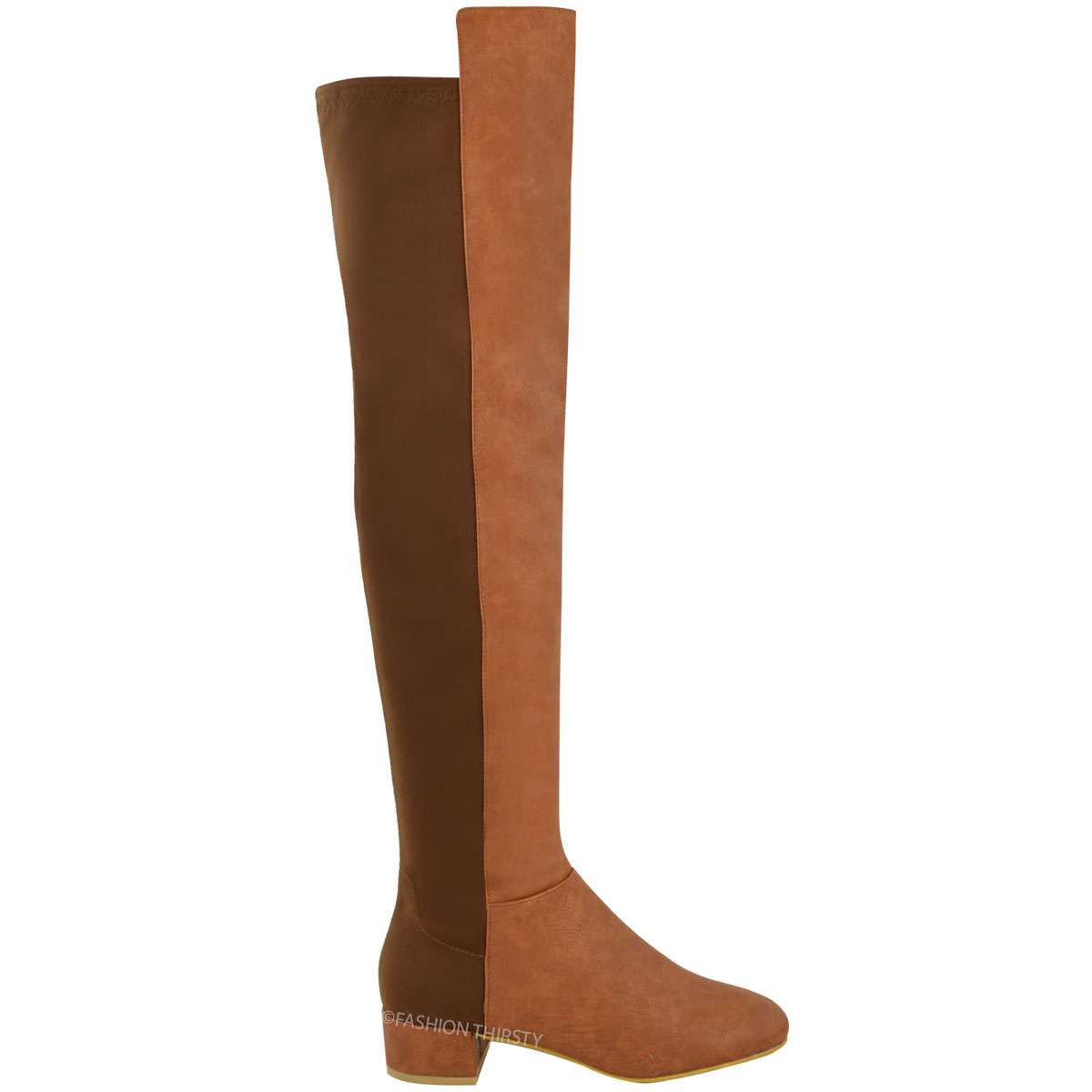 new womens the knee flat boots calf