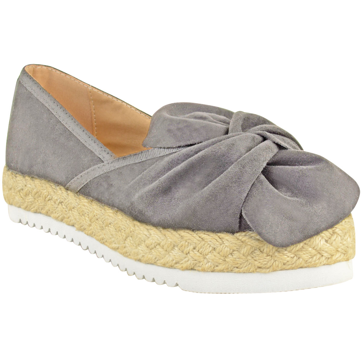 Womens-Ladies-Espadrilles-Flat-Pom-Pom-Sandals-Slip-On-Strappy-Comfy-Size-Shoes thumbnail 38