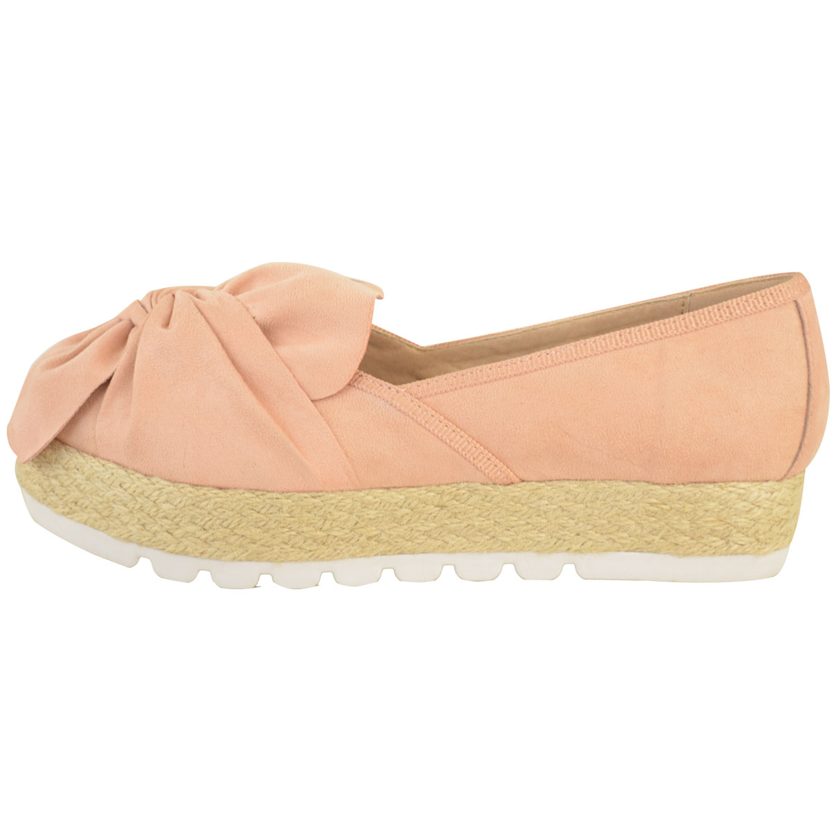 Womens-Ladies-Espadrilles-Flat-Pom-Pom-Sandals-Slip-On-Strappy-Comfy-Size-Shoes thumbnail 44