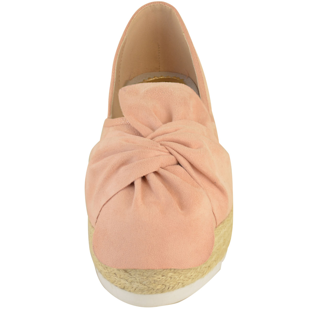 Womens-Ladies-Espadrilles-Flat-Pom-Pom-Sandals-Slip-On-Strappy-Comfy-Size-Shoes thumbnail 45