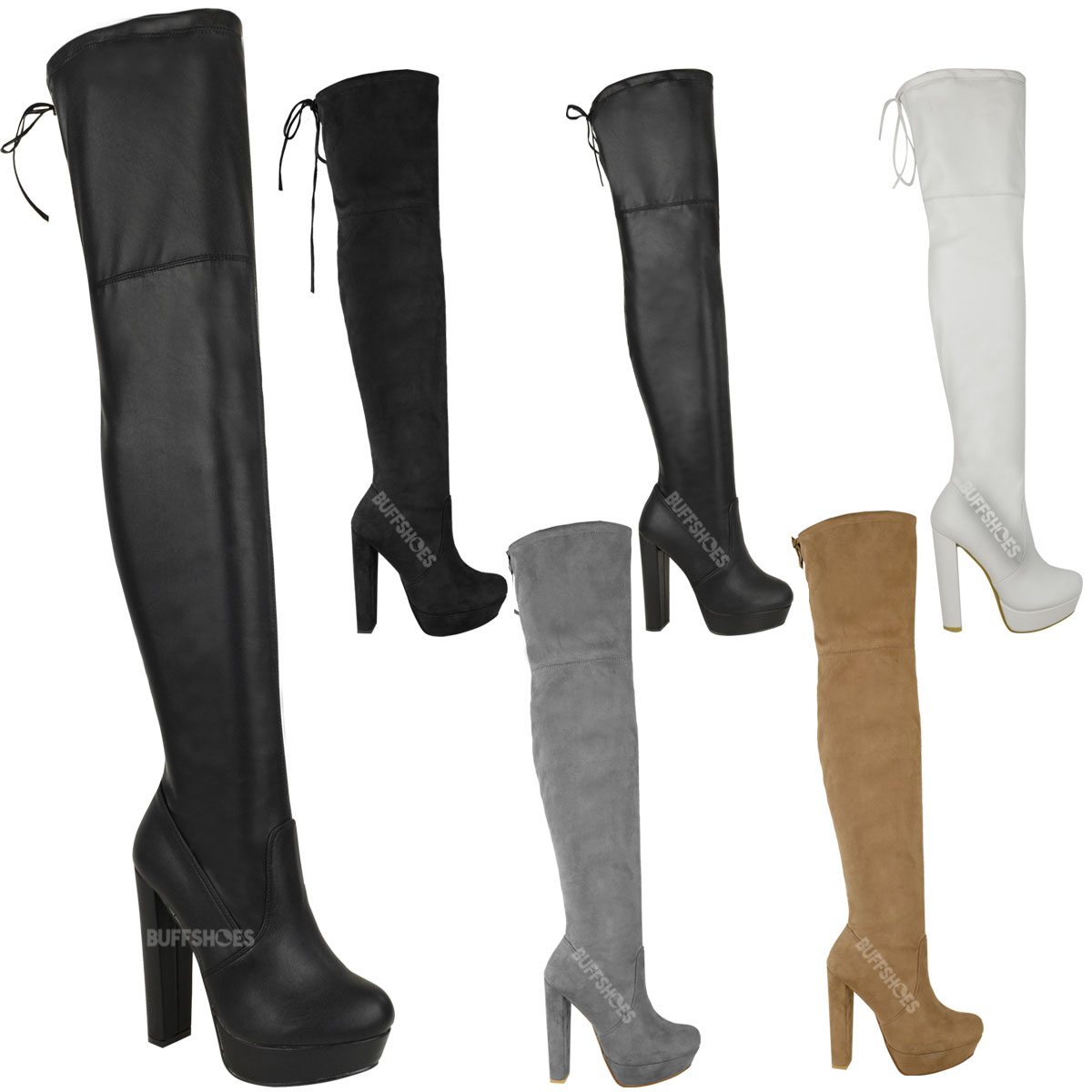 womens thigh high boots the knee