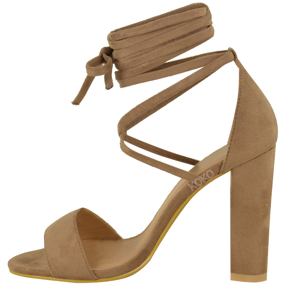 Thick Heel Court Shoes