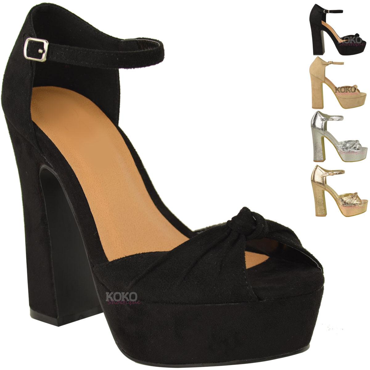 new high heel platform wedge shoes womens open toe